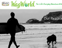 Beneful WagWorld Homepage Redesign Concept