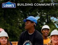 Lowes Social Responsability - Site Concept