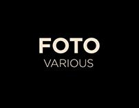 FOTO VARIOUS