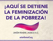 Unión Femenil - Infographics