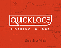 Quickloc8  Mobile & Web Tracking App.