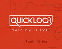 Quickloc8  Mobile & Web Tracking App.