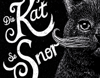 Die Kat se Snor Wine Label
