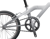 '14 SPACE2 - Urban Folding Bicycle Concept