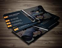 Photography Business Card Horizontal