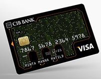 Credit cards for CIB Bank / Internet card