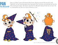Ipan the Wizard - Character Design