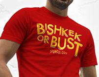 Sporcle T-Shirt: Bishkek or Bust