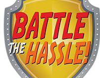 Battle the Hassle / Wrestle the Hassle Flyer Design