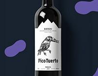Pico Tuerto | Wine Label Design