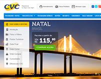 CVC Viagens - Nova Página de Destinos 2.0
