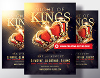 Hip Hop Flyer Template - Night Of Kings