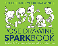 Pose Drawing SparkBook-Put More Life In Your Drawings