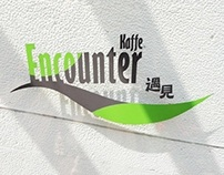 Encounter Kaffe: Logo & Card.