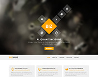 free psd business template