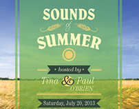 Sounds of Summer (invitation)