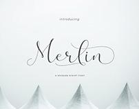 Free Font | Merlin Script
