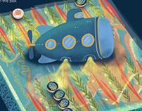 Under the Sea backgammon