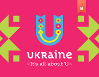 Ukraine — Country tourism brand Identity