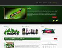 Website Perusahaan Minyak Kayu Putih