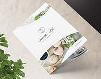 Bi Fold Brochure - Pastry Shop / Bakery