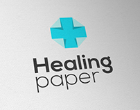 'HealingPaper' Logo Design