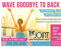The Joint - Half Page Magazine Ad