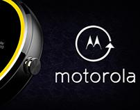 Moto 360 Interaction Design