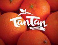 Logotipo para produtora de tangerinas.