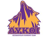 """""""ΛΥΚΟΙ""""/ Wolves - Kechagioglou running team logo"""