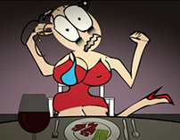 """""""In My Head,"""" Funny Animated Short"""
