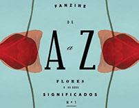 Fanzine de A a Z. As flores e os seus significados. Nº1