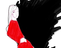 Dries Van Noten X Joe Tin Illustration