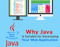 Why Java is Suitable for Developing Your Web Applicatio