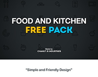 FREE! Food and Kitchen Icons by Chanut-is-Industries