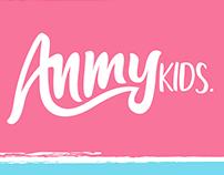 Anmykids (Visual Identity /  Branding )