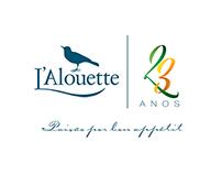 23 anos L'Alouette restaurante