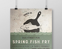 Spring Fish Fry Poster