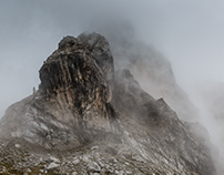 Dolomites. Air