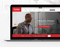Frontier Communications Business Website