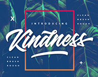 Kindness New Brand Typeface