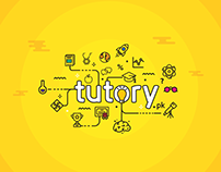 Landing page for Tutory.pk