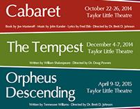 Theatre Season Poster