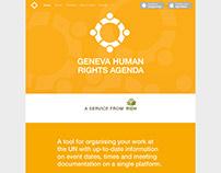 Geneva Human Rights Agenda Microsite