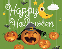 Halloween Child illustration on fotolia