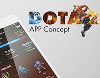 Dota 2 concept app