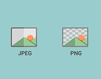 jpeg and png icon matte colors