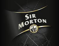 Sir Morton Tea Packaging design