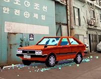 HMS Virtual Exhibition / Pixel Art