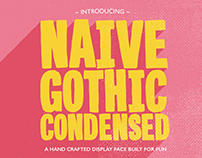 Naive Gothic Condensed